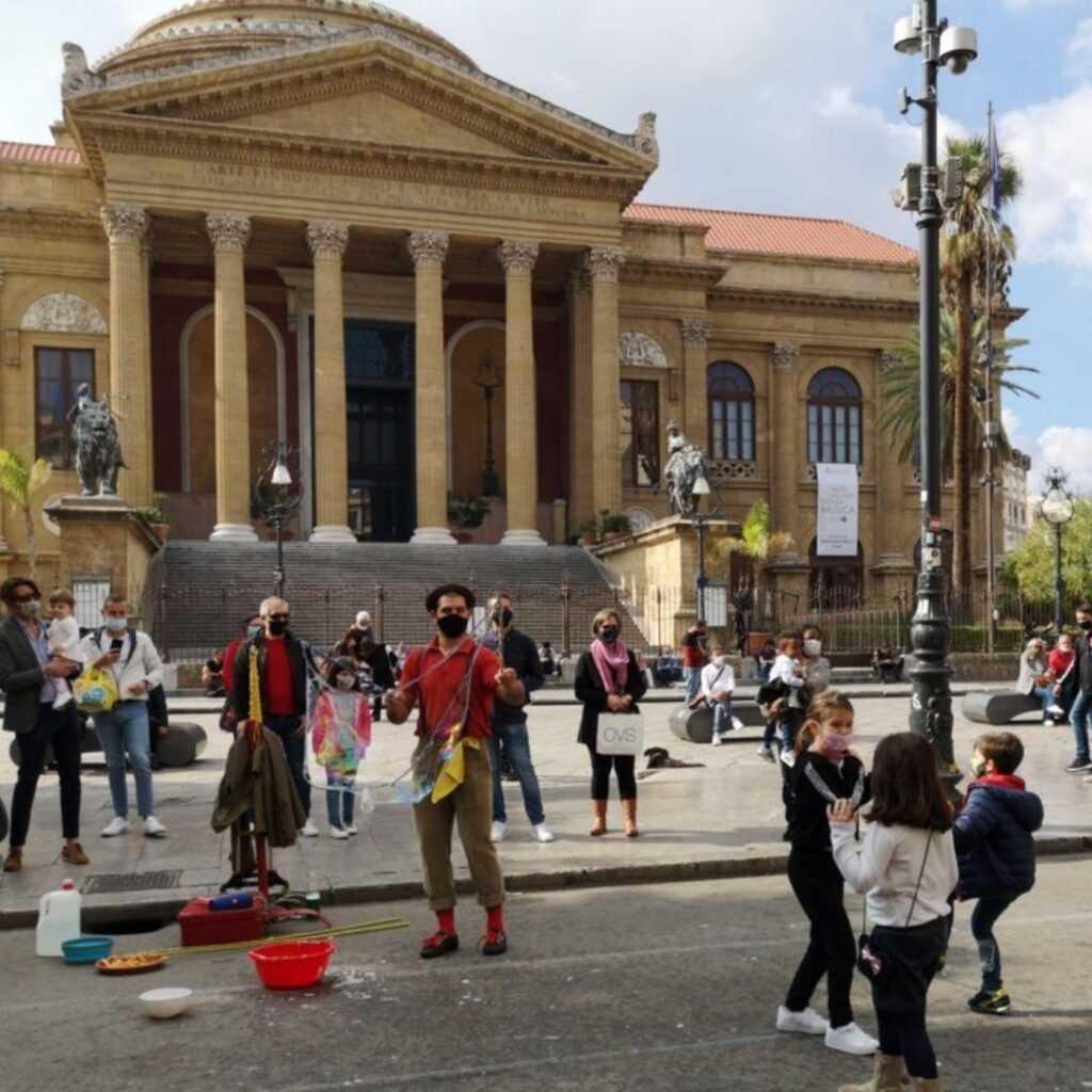 Piazza Verdi palermo