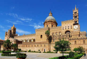 Vista della Cattedrale di Palermo