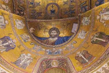cristo mosaici cattedrale monreale