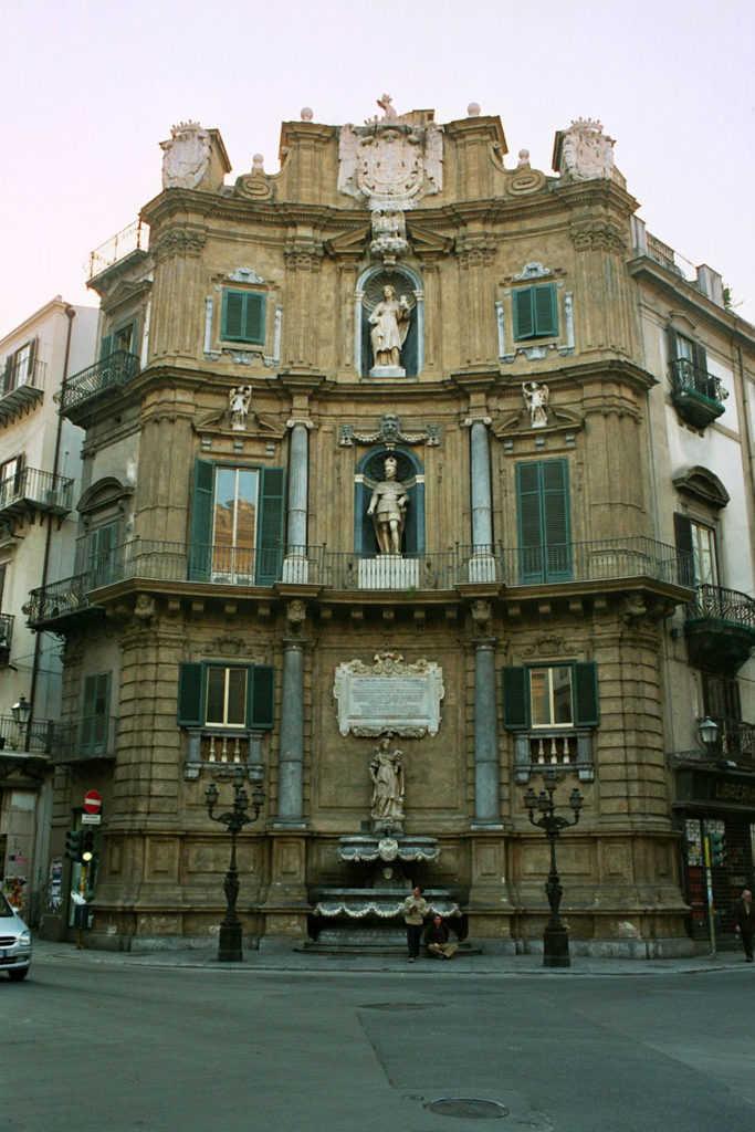 I Quattro Canti a Palermo